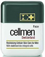 Parfumuri și produse cosmetice Cremă celulară revitalizantă pentru față - Cellmen Face Cream For Men