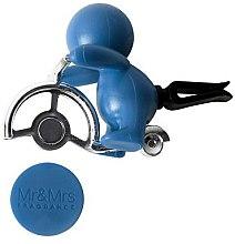 Mr&Mrs Fragrance Gino Light Blue Caribbean Sea - Aromatizator auto — Imagine N2