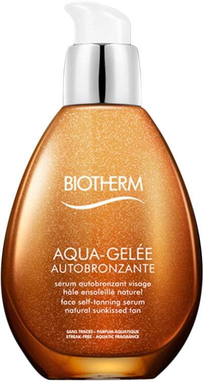 Ser pentru bronz - Biotherm Aqua-Gelee Autobronzante — Imagine N1