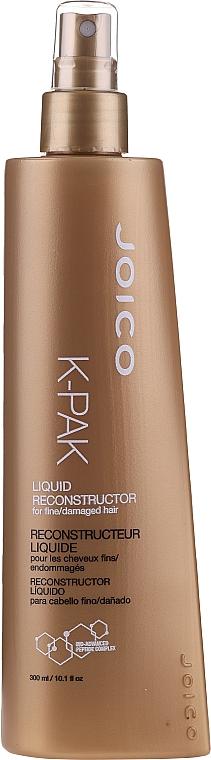 Spray pentru părul subțire și deteriorat - Joico K-Pak Liquid Reconstructor — Imagine N1