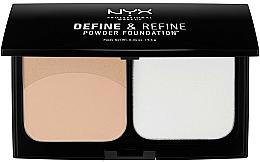 Parfumuri și produse cosmetice Pudră compactă dublă - NYX Professional Makeup Define Refine Powder Foundation