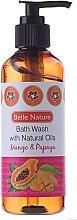 Parfumuri și produse cosmetice Gel de duș, cu aromă de mango și papaya - Belle Nature Bath Wash Mango&Papaya