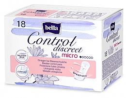 Parfumuri și produse cosmetice Absorbante, 18 bucăți - Bella Control Discreet Micro Bladder Control Pads