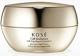 Parfumuri și produse cosmetice Cremă regenerantă de noapte pentru față - KOSE Soja Repair Cocktail Cell Radiance Recovery Night Cream