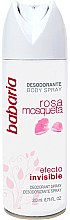 Parfumuri și produse cosmetice Deodorant-spray - Babaria Rose Hip Invisible Effect Deodorant Spray
