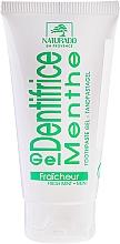 """Parfumuri și produse cosmetice Pastă-gel de dinți """"Menta cu xylitol"""" - Naturado Gel Dentifrice Bio Toothpaste Mint"""