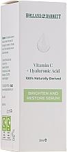 Parfumuri și produse cosmetice Ser cu vitamina C și acid hialuronic pentru față - Holland & Barrett Vitamin C + Hyaluronic Acid Serum