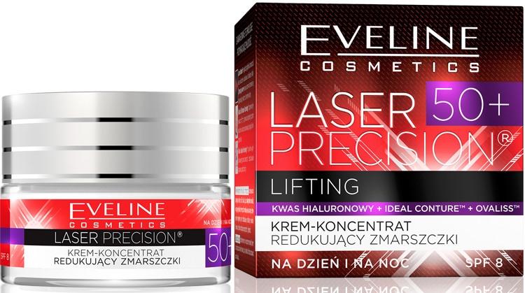 """Cremă de zi și de noapte """"Lifting profund"""" - Eveline Cosmetics Laser Precision — Imagine N1"""