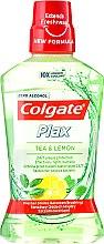 """Parfumuri și produse cosmetice Agent de clătire pentru cavitatea bucală """"Ceai și Lămâie"""" - Colgate Plax Tea&Lemon"""