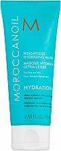 Parfumuri și produse cosmetice Mască hidratantă pentru păr subțire - Moroccanoil Weightless Hydrating Mask Moroccanoil