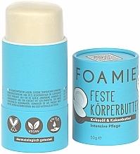 """Parfumuri și produse cosmetice Unt de corp """"Cocos"""" - Foamie Solid Body Butter"""
