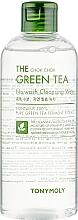 Parfumuri și produse cosmetice Apă de curățare pentru față - Tony Moly The Chok Chok Green Tea No-Wash Cleansing Water