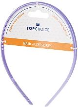 Parfumuri și produse cosmetice Cordeluță de păr, 27871, mov - Top Chice