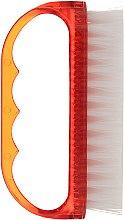 Parfumuri și produse cosmetice Perie pentru unghii, 74752, roșie - Top Choice