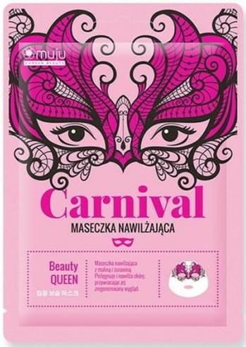Mască din țesătură pentru față - Muju Carnival Beauty Queen — Imagine N1