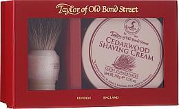 Parfumuri și produse cosmetice Set - Taylor of Old Bond Street Cedarwood (sh/brash + sh/cream/150g)