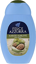 "Parfumuri și produse cosmetice Gel de duș ""Karite"" - Paglieri Felce Azzurra Benessere Shower Gel"