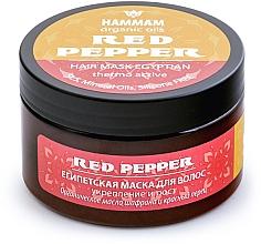 """Parfumuri și produse cosmetice Mască egipteană de păr """"Întărire și creștere"""" - Hammam Organic Oils Red Pepper"""
