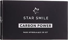 Parfumuri și produse cosmetice Benzi pentru albirea dinților - Star Smile Carbon Power Whitening Strips