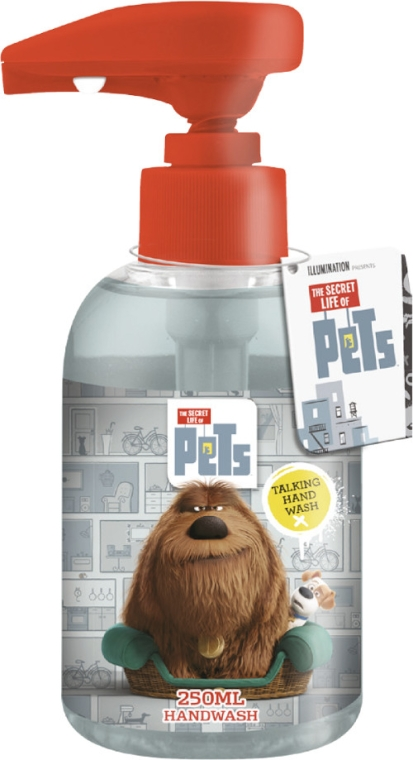 Săpun lichid pentru copii - Corsair The Secret Life Of Pets Talking Handwash — Imagine N1