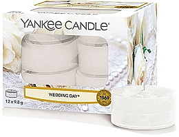 Parfumuri și produse cosmetice Lumânări de ceai - Yankee Candle Scented Tea Light Wedding Day