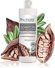 Parfumuri și produse cosmetice Șampon cu unt de cacao și uree pentru păr - E-Fiori