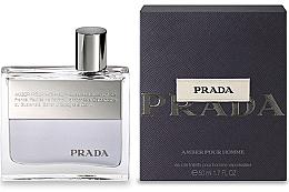 Parfumuri și produse cosmetice Prada Amber Pour Homme - Apă de toaletă