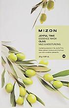 Parfumuri și produse cosmetice Mască de țesut cu extract de măsline - Mizon Joyful Time Olive Essence Mask