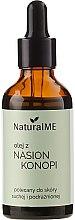Parfumuri și produse cosmetice Ulei din seminţe de cânepă - NaturalME