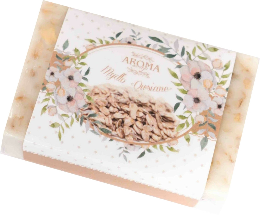 """Săpun """"Fulgi de ovăz"""" - Delicate Organic Aroma Soap — Imagine N1"""
