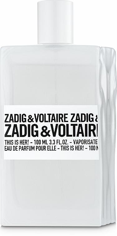 Zadig & Voltaire This is Her - Apă de parfum (tester cu capac)