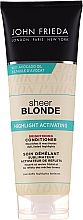 Parfumuri și produse cosmetice Balsam activ pentru păr blond - John Frieda Sheer Blonde Highlight Activating Brightening Conditioner