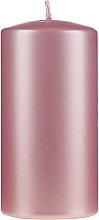 Parfumuri și produse cosmetice Lumânare decorativă, sidefată, 14 cm, roz - Artman Opal Candle