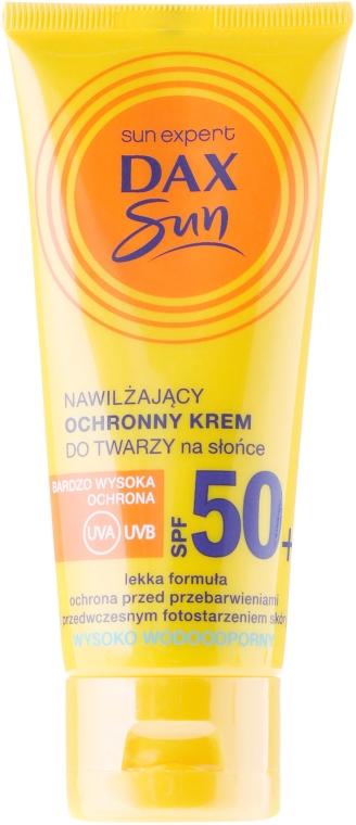 Cremă cu protecție solară și ulei de argan pentru față - DAX Sun Protective Face Cream SPF 50