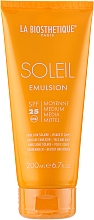 Parfumuri și produse cosmetice Emulsie de protecție solară impermeabilă - La Biosthetique Soleil Emulsion SPF 25