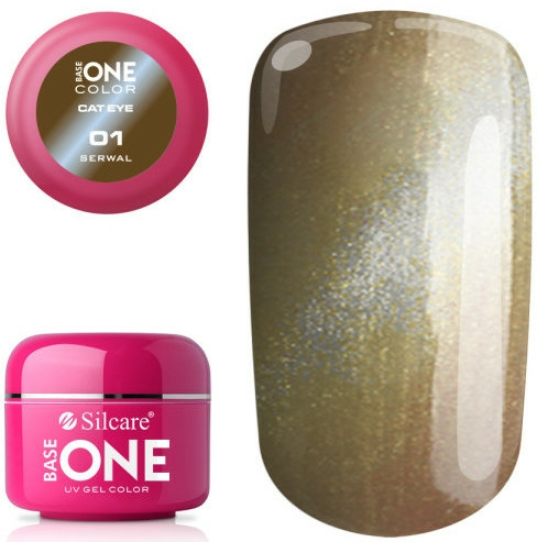 Gel de unghii - Silcare Base One Cat Eye