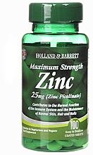 "Parfumuri și produse cosmetice Supliment alimentar ""Zinc"" - Holland & Barrett Maximum Strength 25mg Zinc Picolinate"