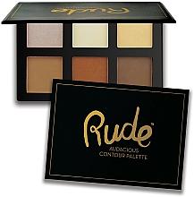 Parfumuri și produse cosmetice Paletă contouring - Rude Audacious Contouring Palette