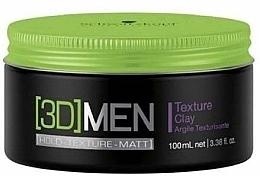 Parfumuri și produse cosmetice Argilă pentru păr - Schwarzkopf Professional 3D Mension Texture glay