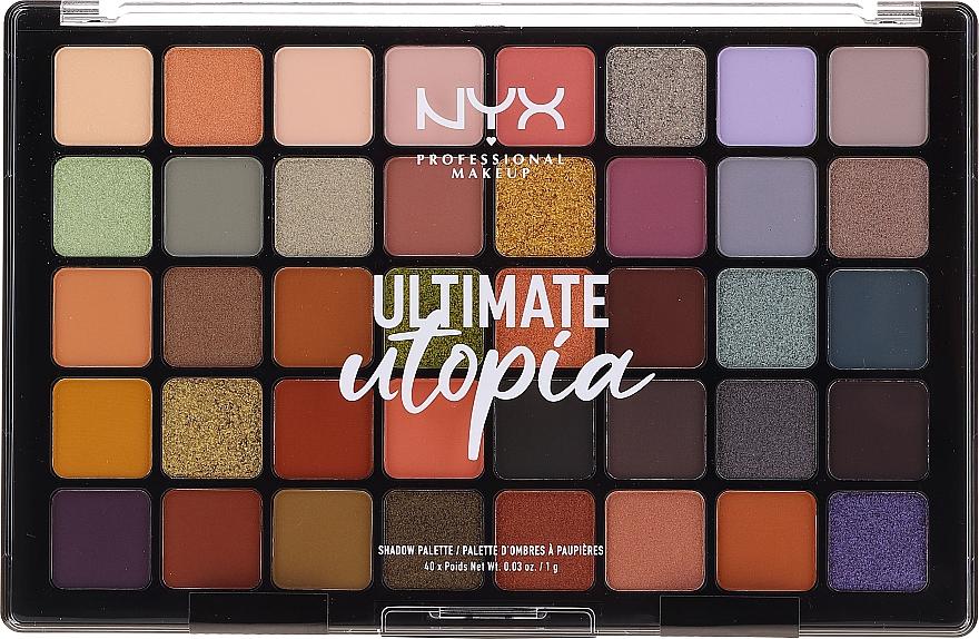 Paletă fard de ochi - NYX Ultimate Utopia Shadow Palette Summer 2020