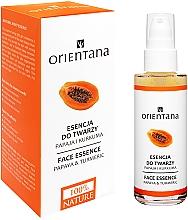 Parfumuri și produse cosmetice Mască pentru față - Orientana Bio Essence-Mask Papaya & Turmeric