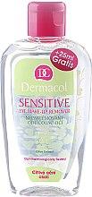 Parfumuri și produse cosmetice Loțiune demachiantă pentru zona sensibilă din jurul ochilor - Dermacol Sensitive Eye Make-Up Remover