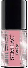 Parfumuri și produse cosmetice Gel lac de unghii - Semilac x Deezee UV Hybrid Gel Nail Polish