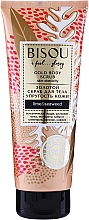 Parfumuri și produse cosmetice Scrub auriu de corp - Bisou Lime&Marine Alga Gold Body Scrub