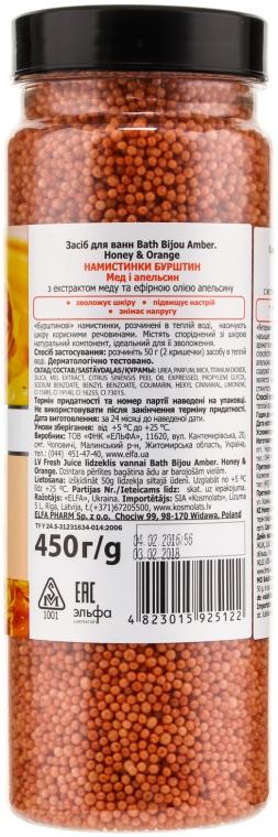 Bile pentru baie - Fresh Juice Bath Bijou Amber Honey and Orange — Imagine N2