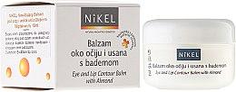 Parfumuri și produse cosmetice Balsam cu ulei de migdale pentru zona ochilor și buzelor - Nikel Eye and Lip Contour Balm