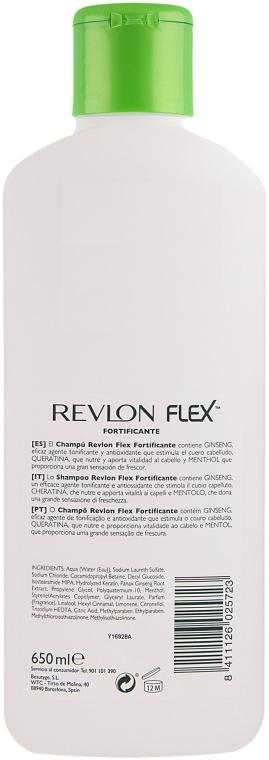 Șampon pentru întărirea firelor de păr - Revlon Flex Fortifying Shampoo — Imagine N2