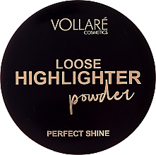Parfumuri și produse cosmetice Highlighter pulbere - Vollare Loose Highlighter Powder Perfect Shine