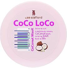 Parfumuri și produse cosmetice Mască cu ulei de cocos pentru păr - Lee Stafford Coco Loco