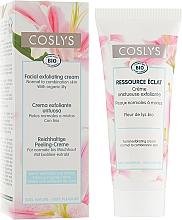 Parfumuri și produse cosmetice Cremă-exfoliant de față - Coslys Facial Care Exfoliating Facial CreamWith Lily Extract